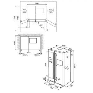 Frigocongelatore EAL6142BOX