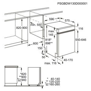Lavastoviglie TP1003R5B